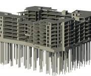 constructie Holland Park blok 18 en 19