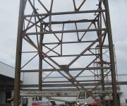 Staalconstructie fabriek in China